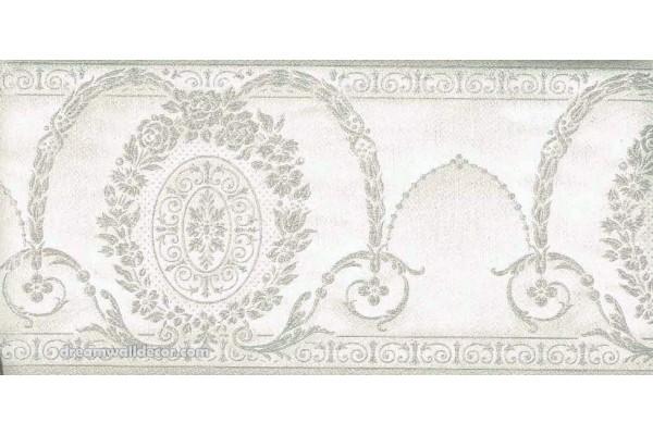 Home Green Decorate Molding Wallpaper Border 600x400