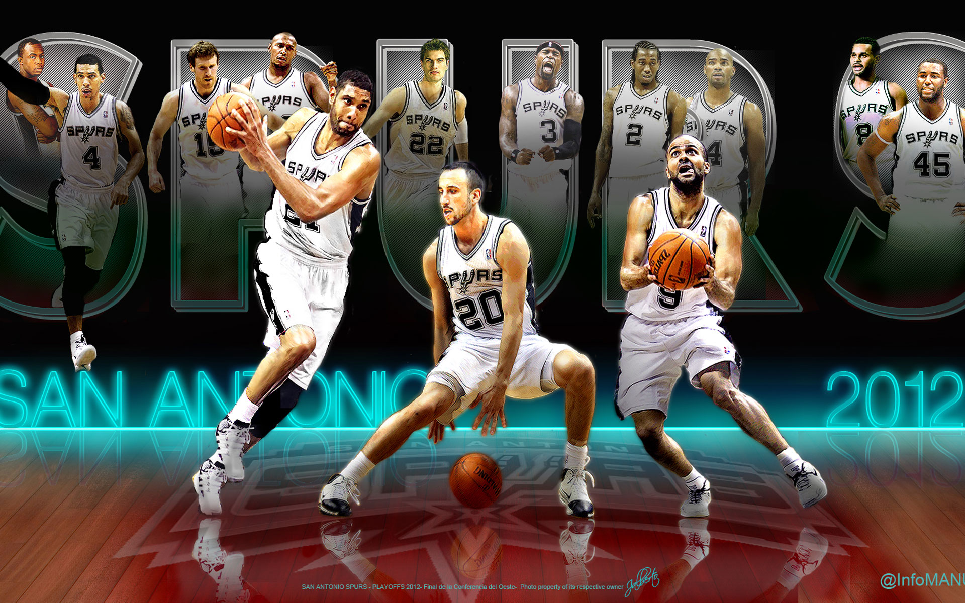 Wallpapers San Antonio Spurs ImageBankbiz 1920x1200