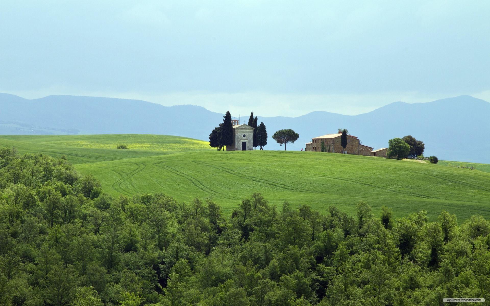 43 tuscany wallpaper for desktop on wallpapersafari - Italy screensaver ...