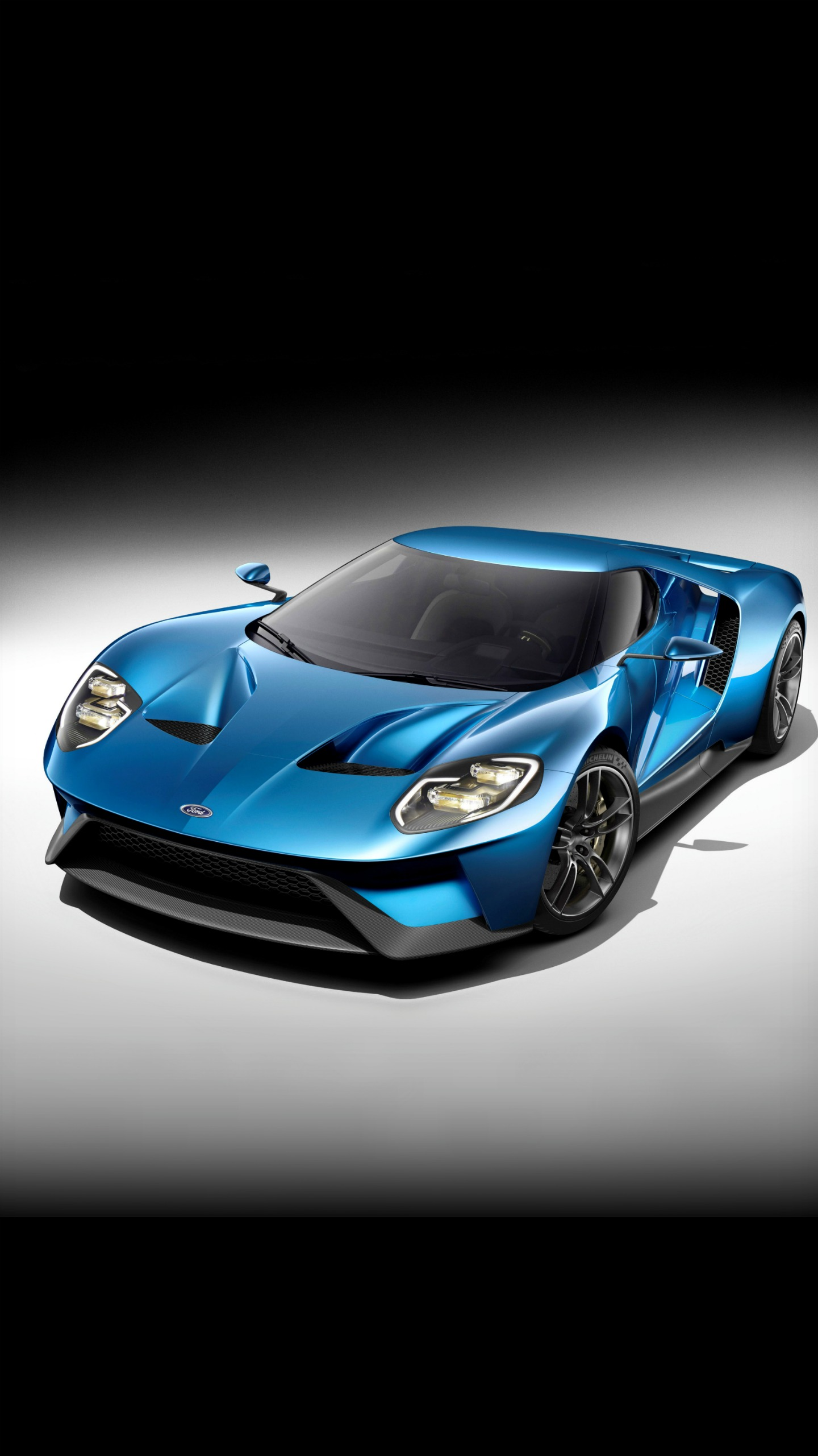 Sports Car 2017 Ford GT wallpaper HD Desktop Mobile 1440x2560
