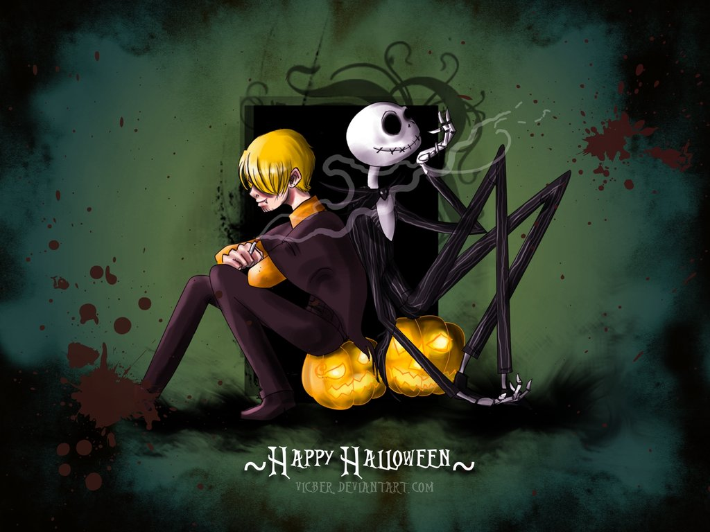 Fond decran Personnages Happy Halloween   Wallpaper 1024x768