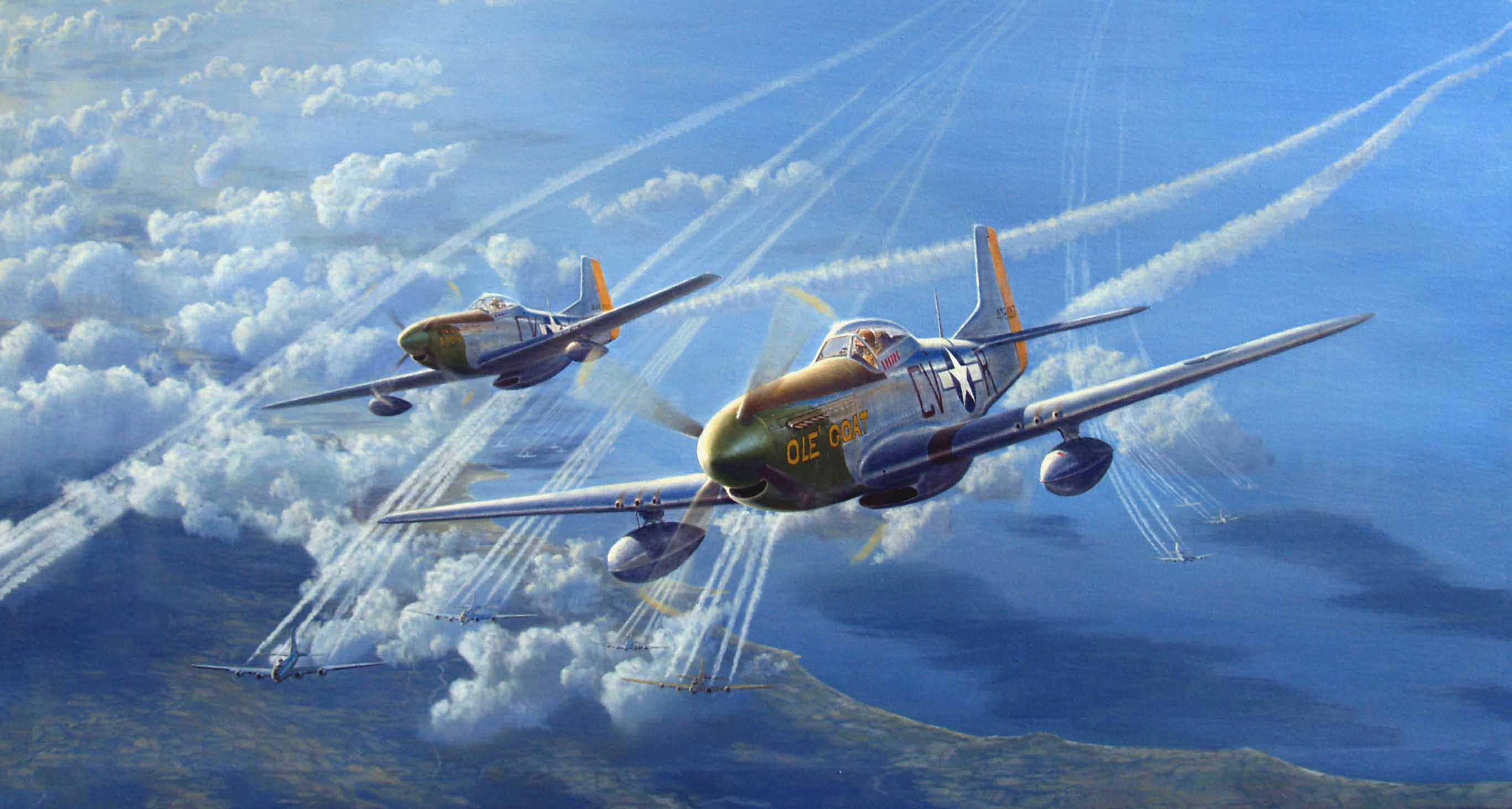 North American P 51 Mustang Computer Wallpapers Desktop Backgrounds 2735x1464