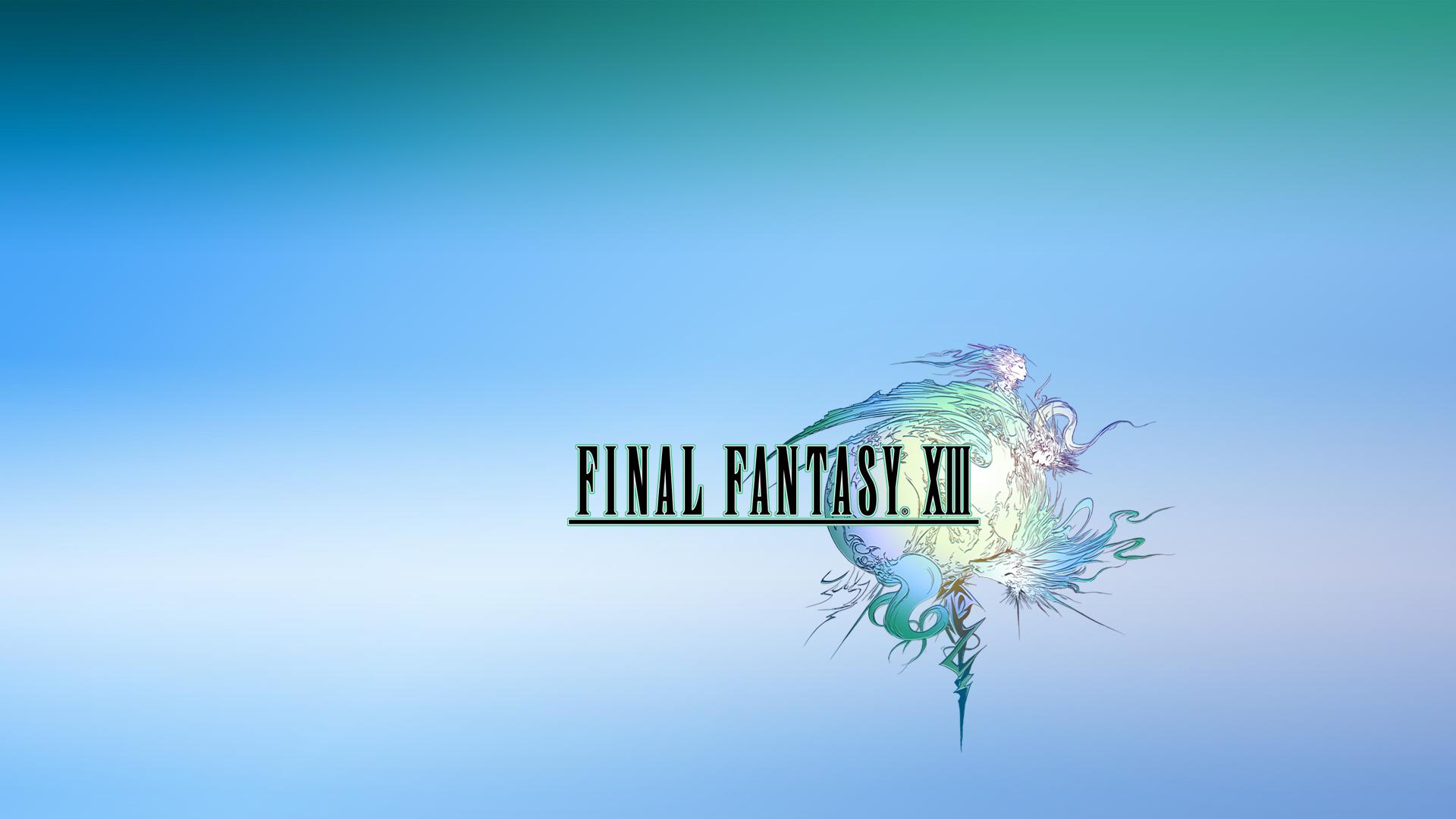 final fantasy logo ps3 wallpapers actual 1920x1080 1920x1080