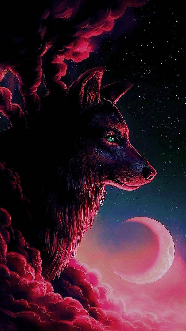 Download Red Wolf Wallpaper by McFurkan74   1b   on ZEDGE 720x1280