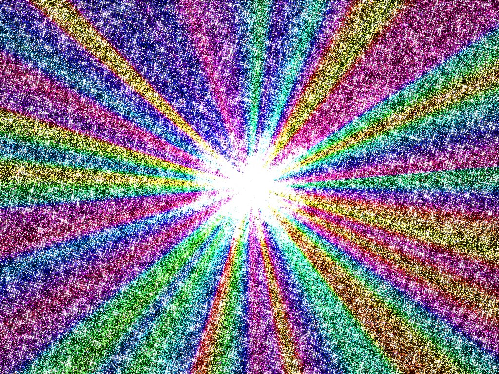 Desktop wallpaper PC wallpaper Colorful and glittery and VERY 1024x768
