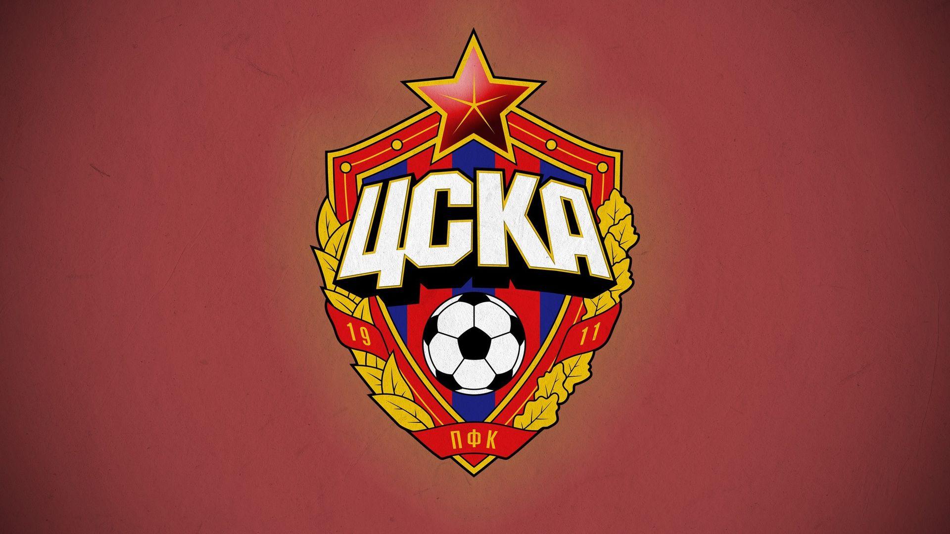 PFC CSKA Moscow Football Club Logo Wallpaper   Wallpaper Stream 1920x1080