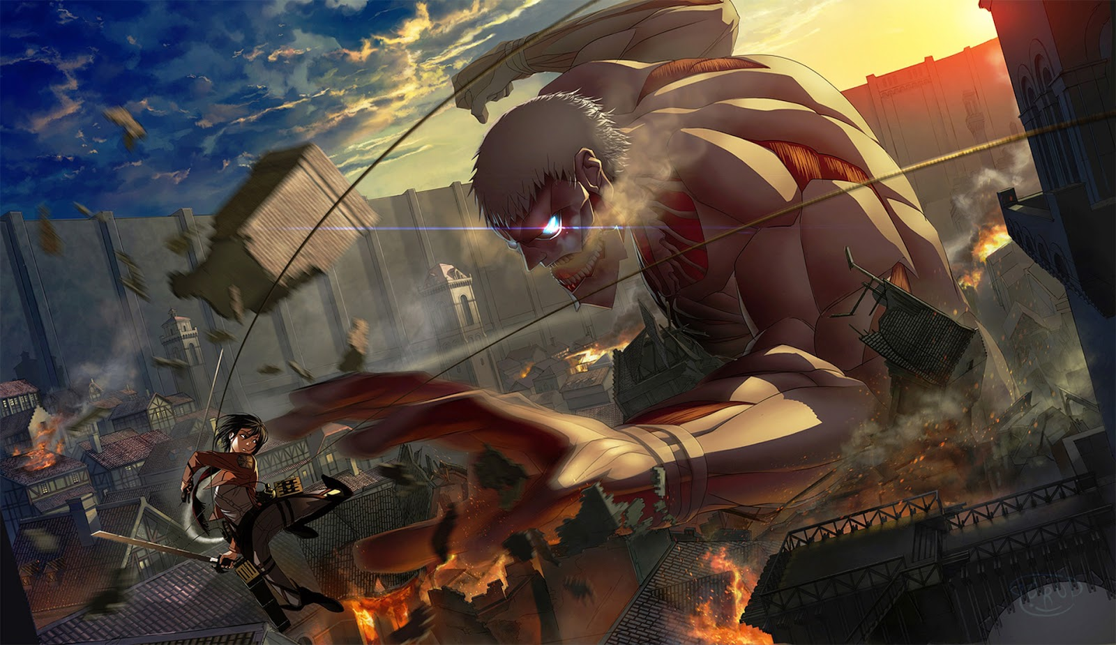 AOT Wallpapers shingeki no kyojin attack on titan 36001011 1600 925 1600x925