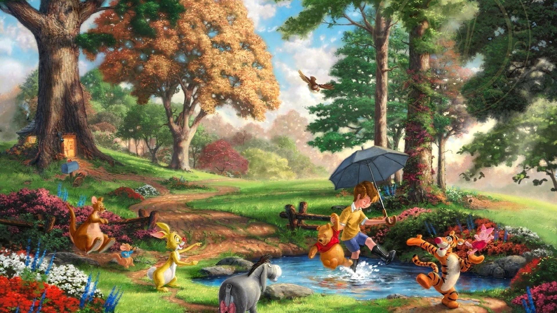 Thomas Kinkade Disney Wallpaper 1920x1080 - WallpaperSafari