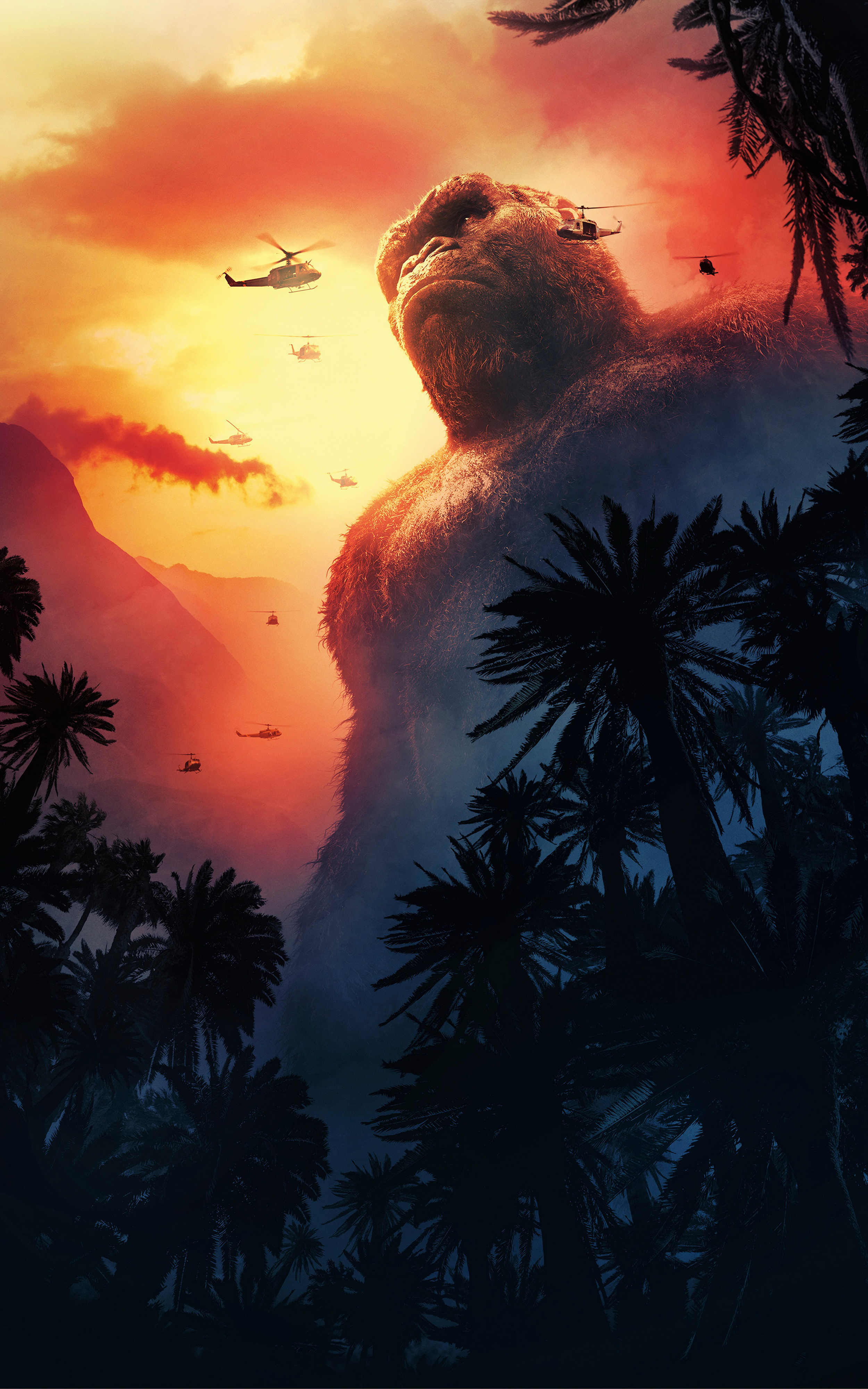 Free Download Mobile Wallpapers 102 Movie Of The Week Kong Skull