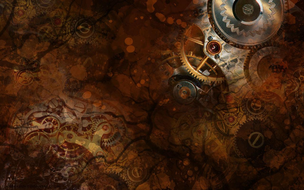 Steampunk Wallpaper 1280x800