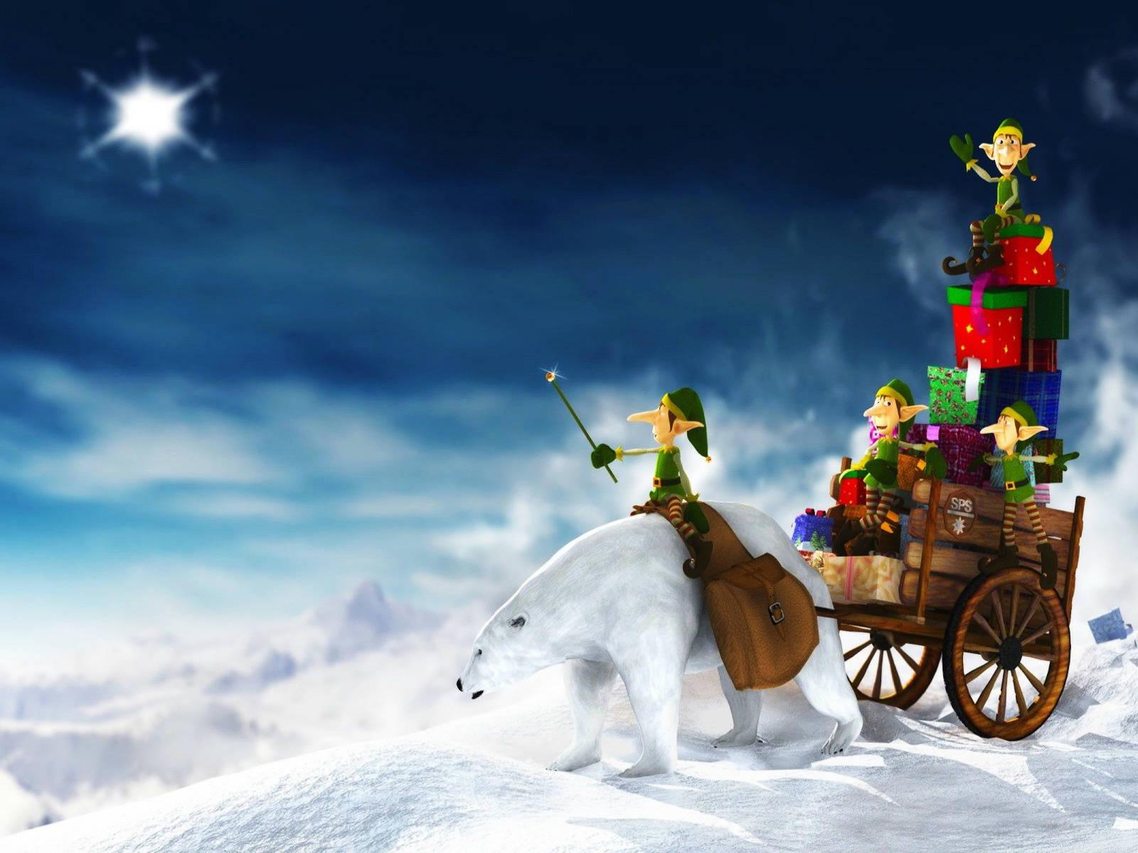 Animated Christmas Wallpapers Animated Desktop Christmas Wallpaper 1600x1200
