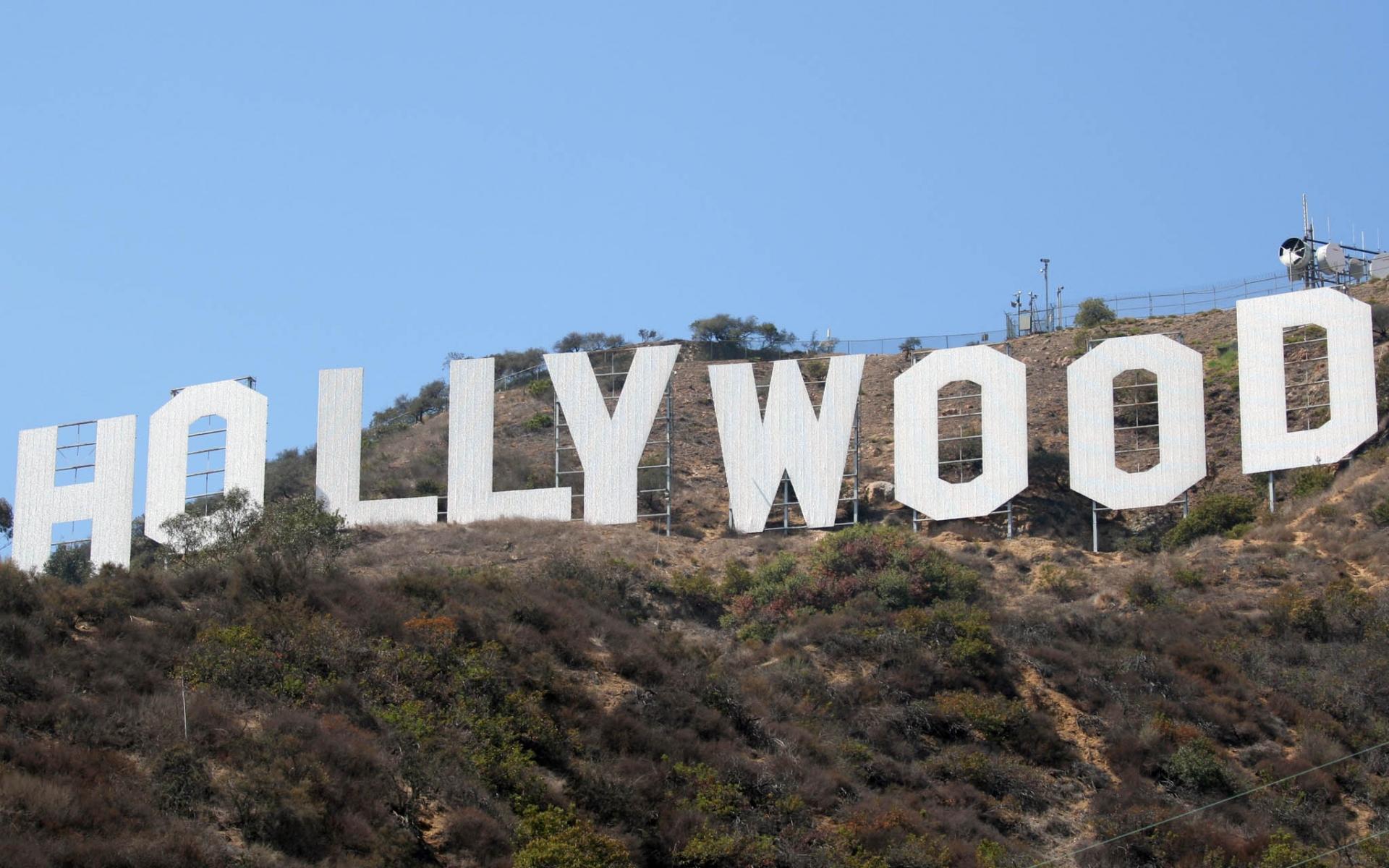 Hollywood Sign   Desktop Wallpaper 1920x1200
