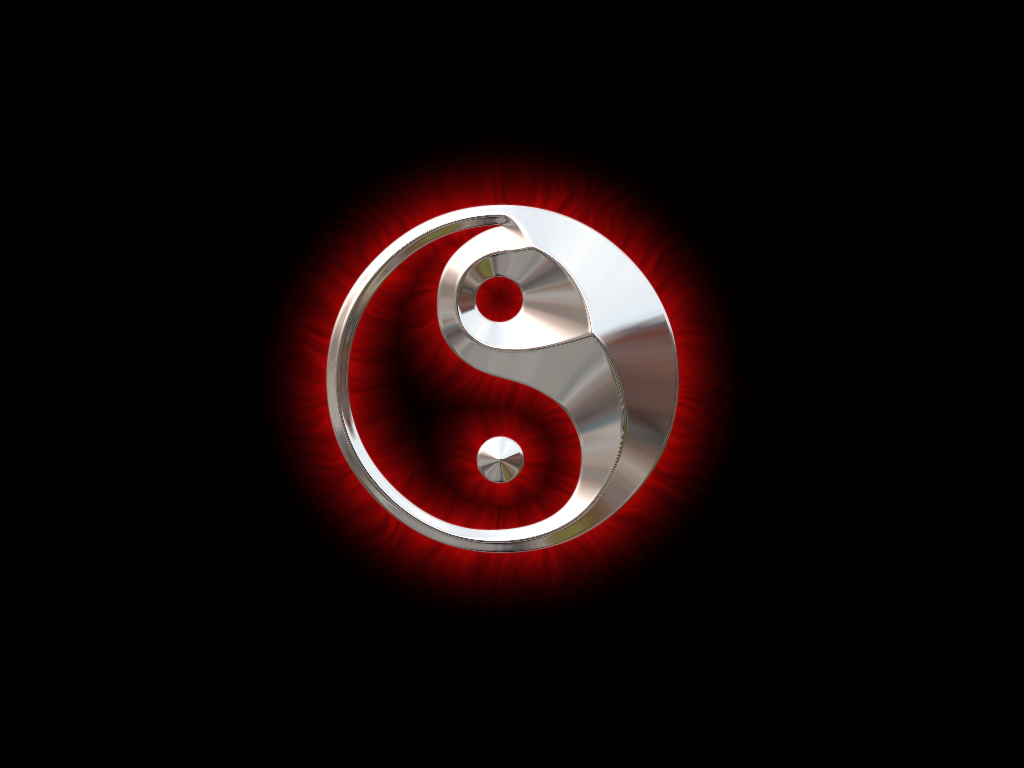 Pics Photos   Ying Yang 3d Picture 1024x768