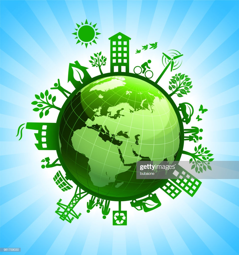 Green Planet Earth Green Environmental Conservation Background 959x1024
