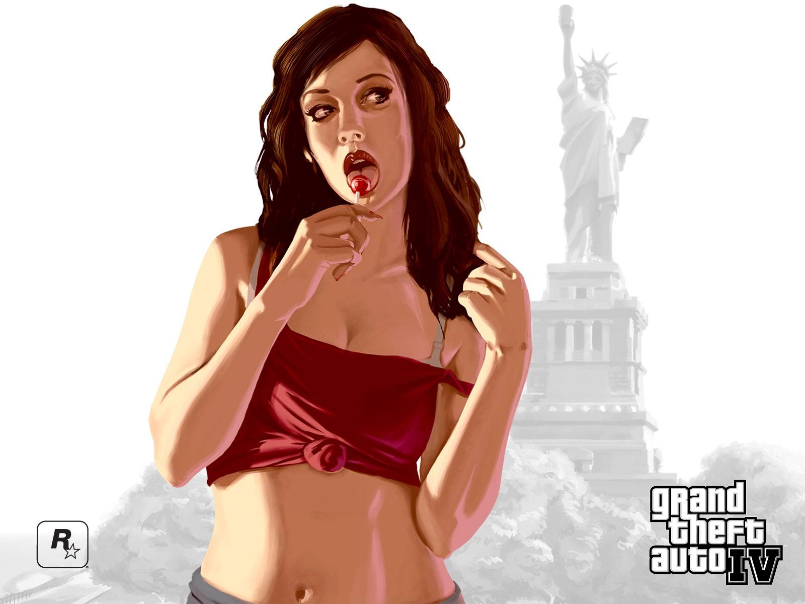 GTA IV Girl Wallpaper Gamebud 1600x1200