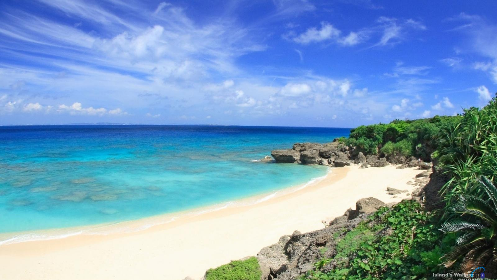 Beach Desktop Wallpaper Widescreen: Okinawa Wallpaper
