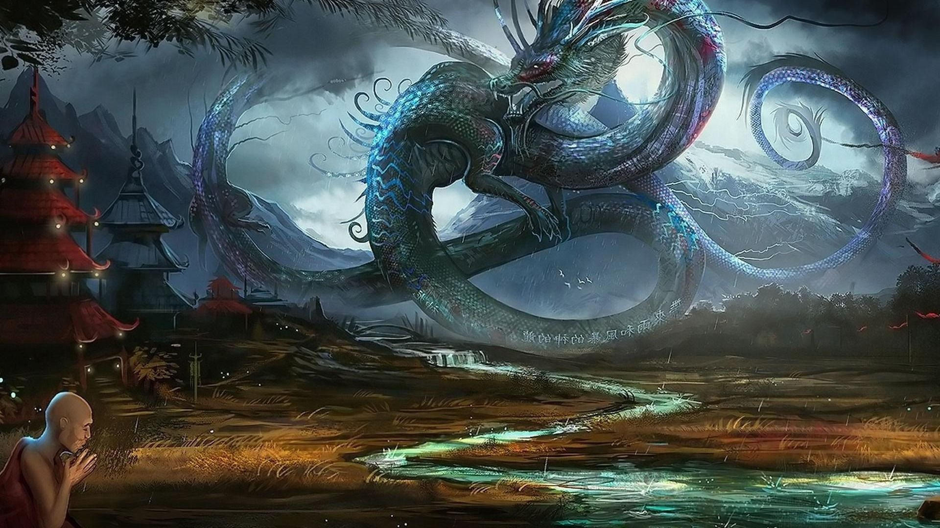 Wallpapers For Chinese Dragon Wallpapers 3d 1920x1080
