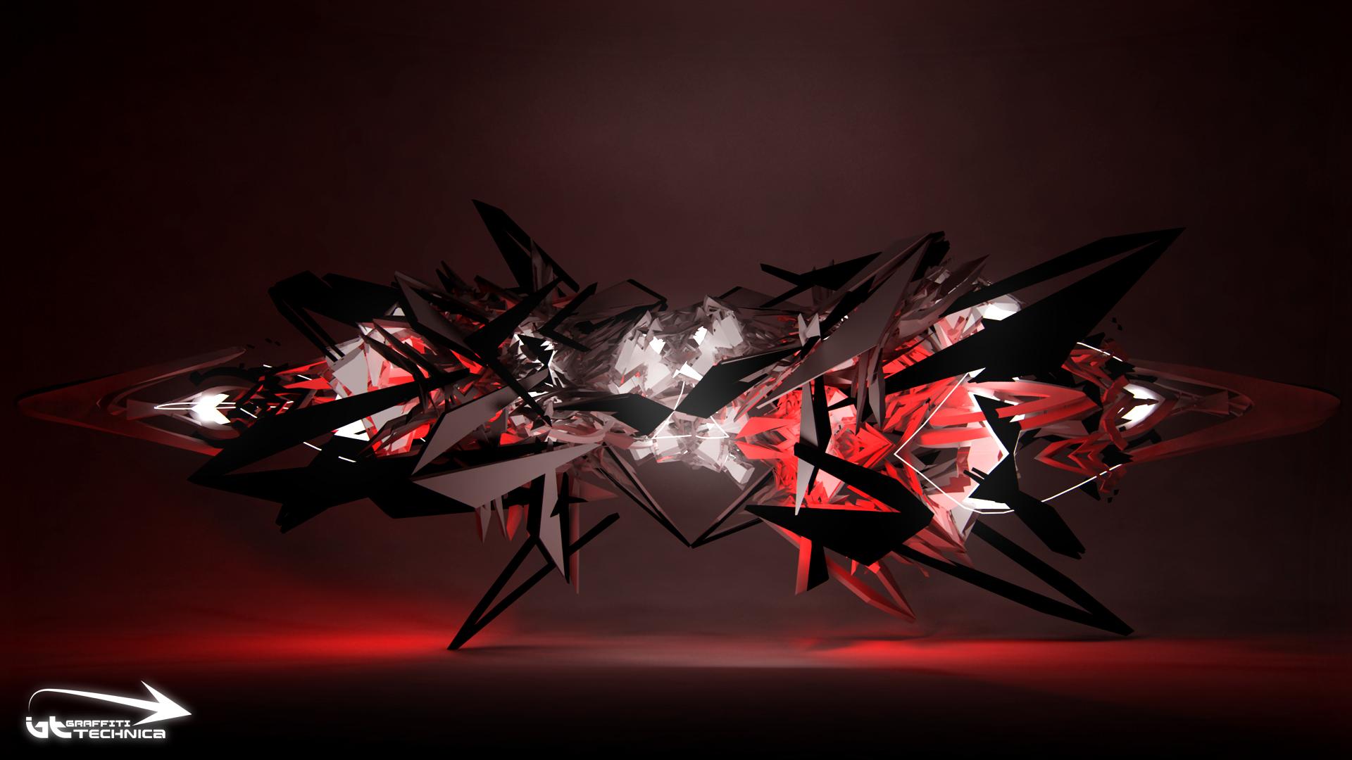 3D Graffiti Wallpapers ~ Wallpaper Area