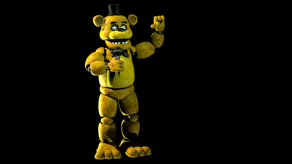 Golden Freddy by Vickolous 1024x576