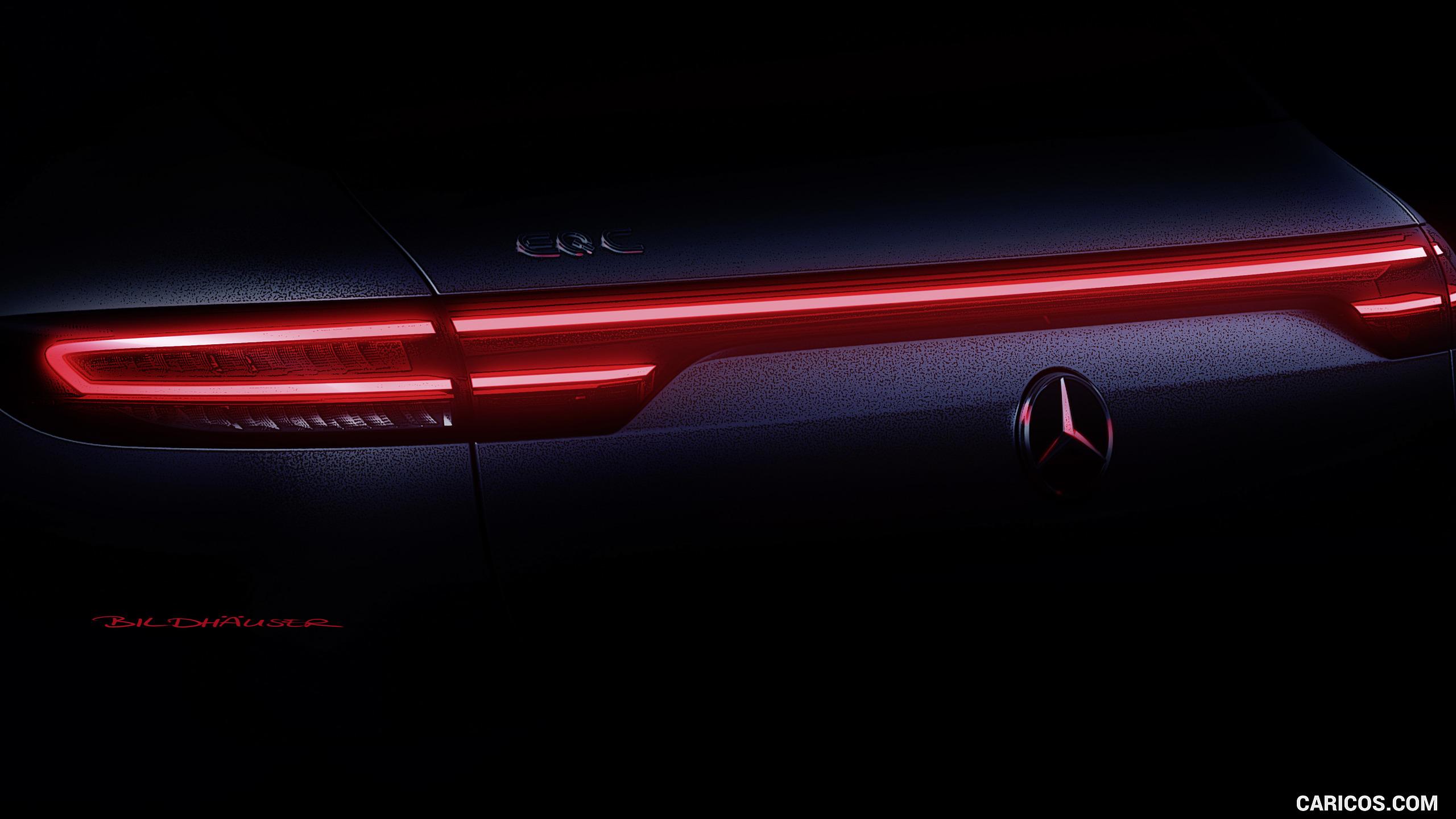 2020 Mercedes Benz EQC   Tail Light HD Wallpaper 95 2560x1440