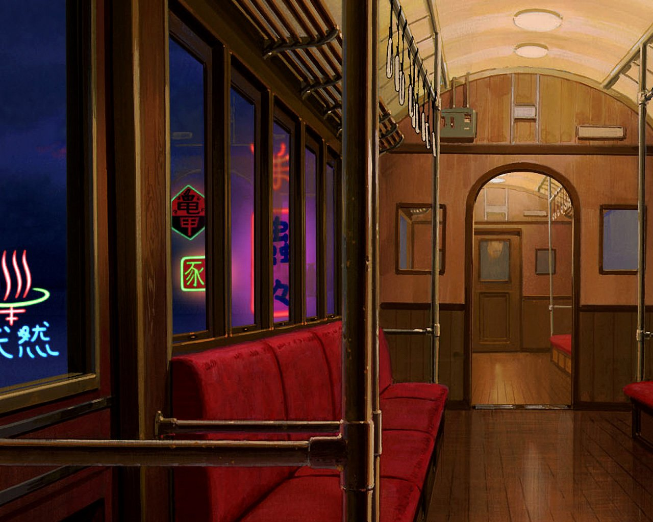 Free Download Spirited Away Wallpaper Train Wallpaper Wallpaper Hd Background 1280x1024 For Your Desktop Mobile Tablet Explore 74 Spirited Away Wallpapers Howl S Moving Castle Wallpaper No Face Spirited Away Wallpaper