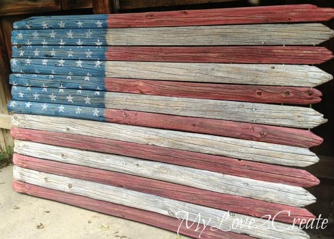 Rustic American Flag Wallpaper Wallpapersafari