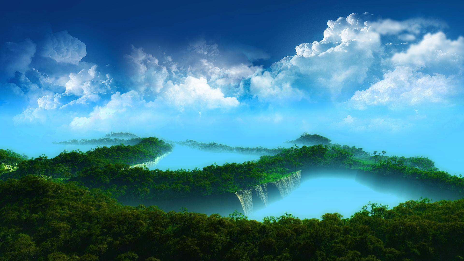 Mystical Paradise Wallpapers 1920x1080