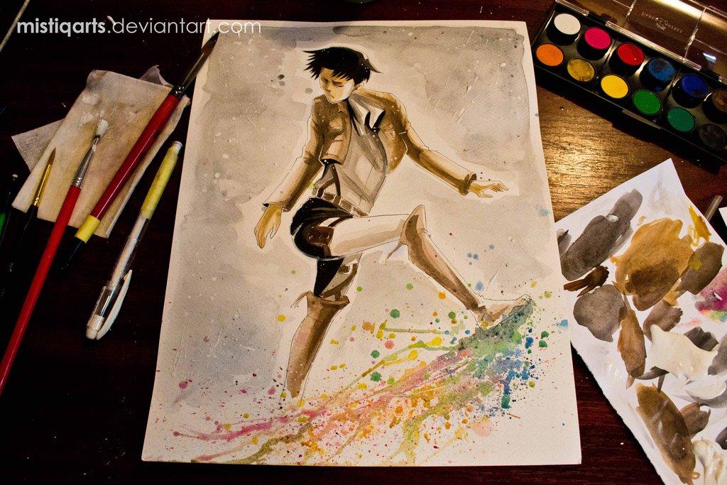 Levi Kick Fabulous Wallpaper by Mistiqarts 1024x683