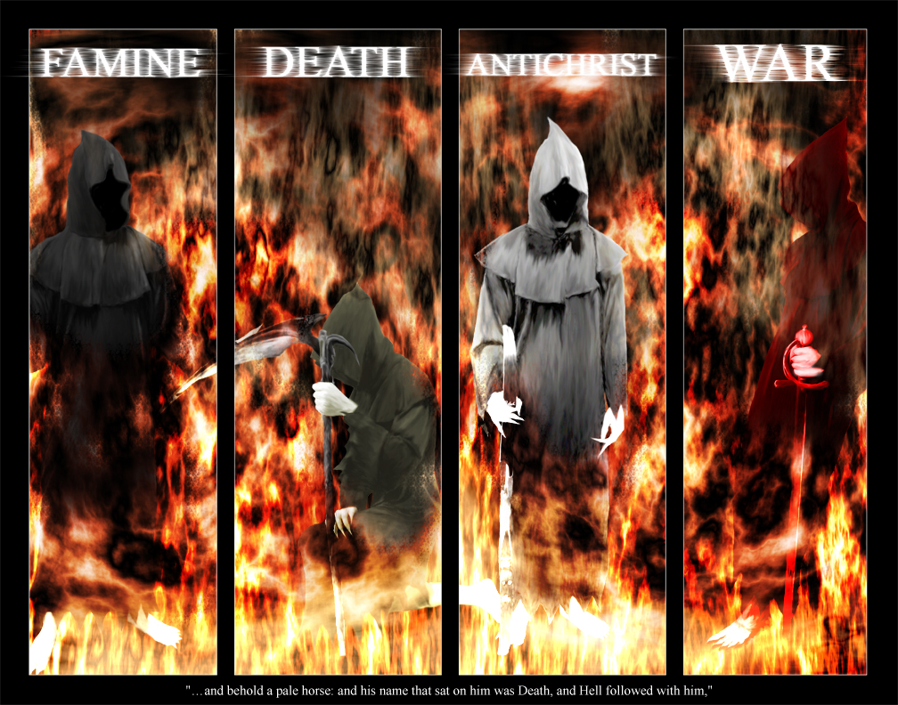 Names Of The Four Horsemen Of The Apocalypse The four horsemen of 1008x792