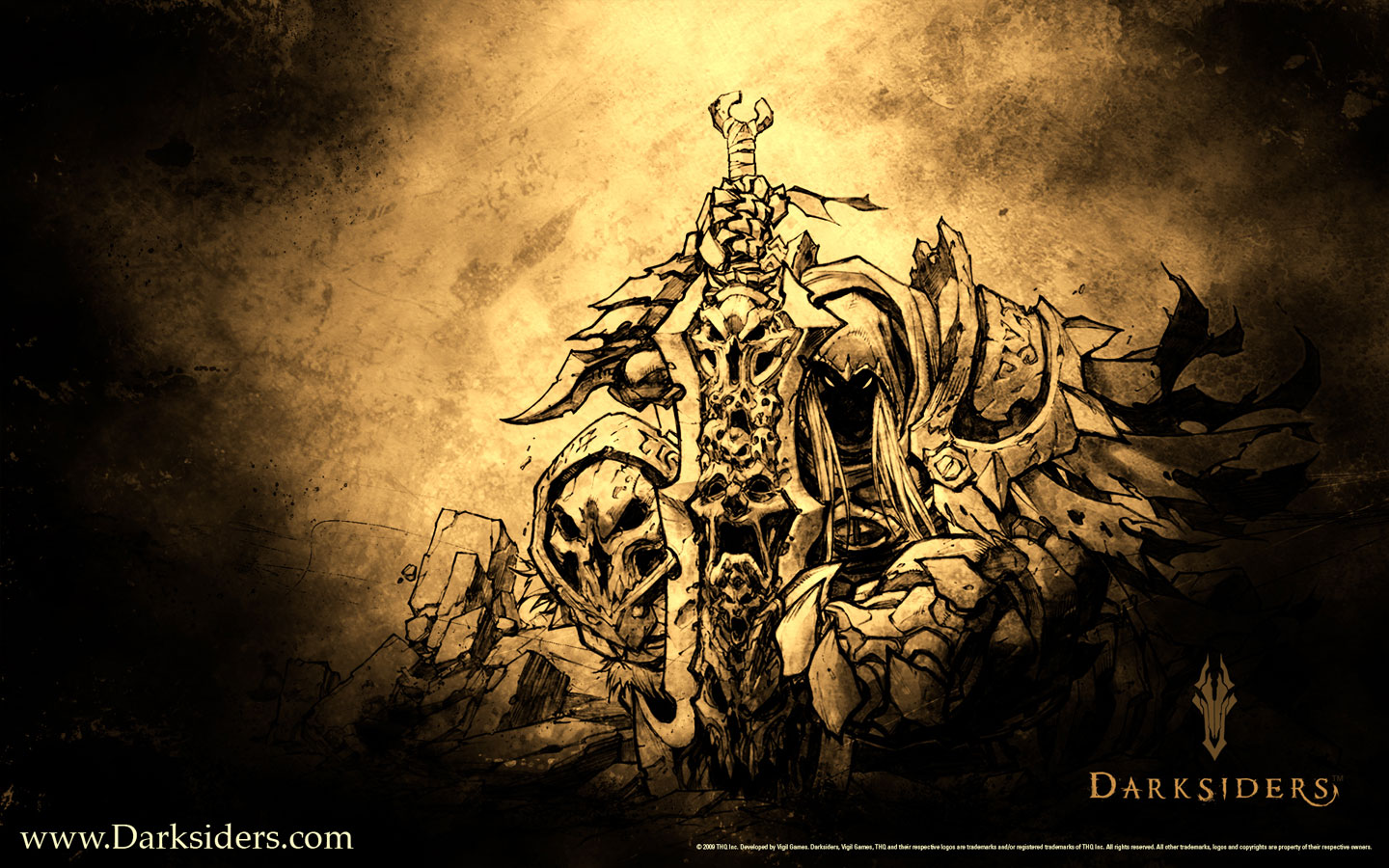 Horsemen Of The Apocalypse Darksiders Four horsemen the 1440x900