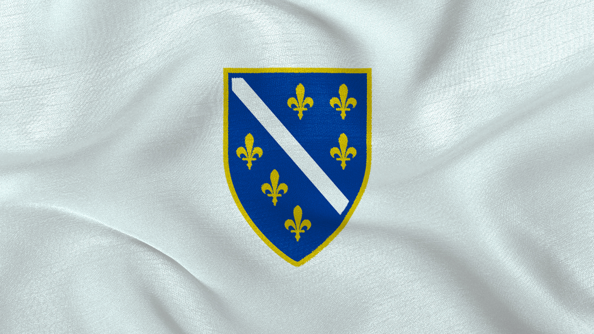 Republic of Bosnia and Herzegovina Flag Wallpaper by Edinev on 1920x1080