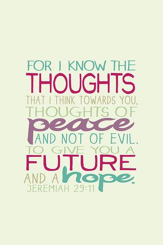 Jeremiah 2911 Bible verse iPhone 4 wallpaper Actions 333x500