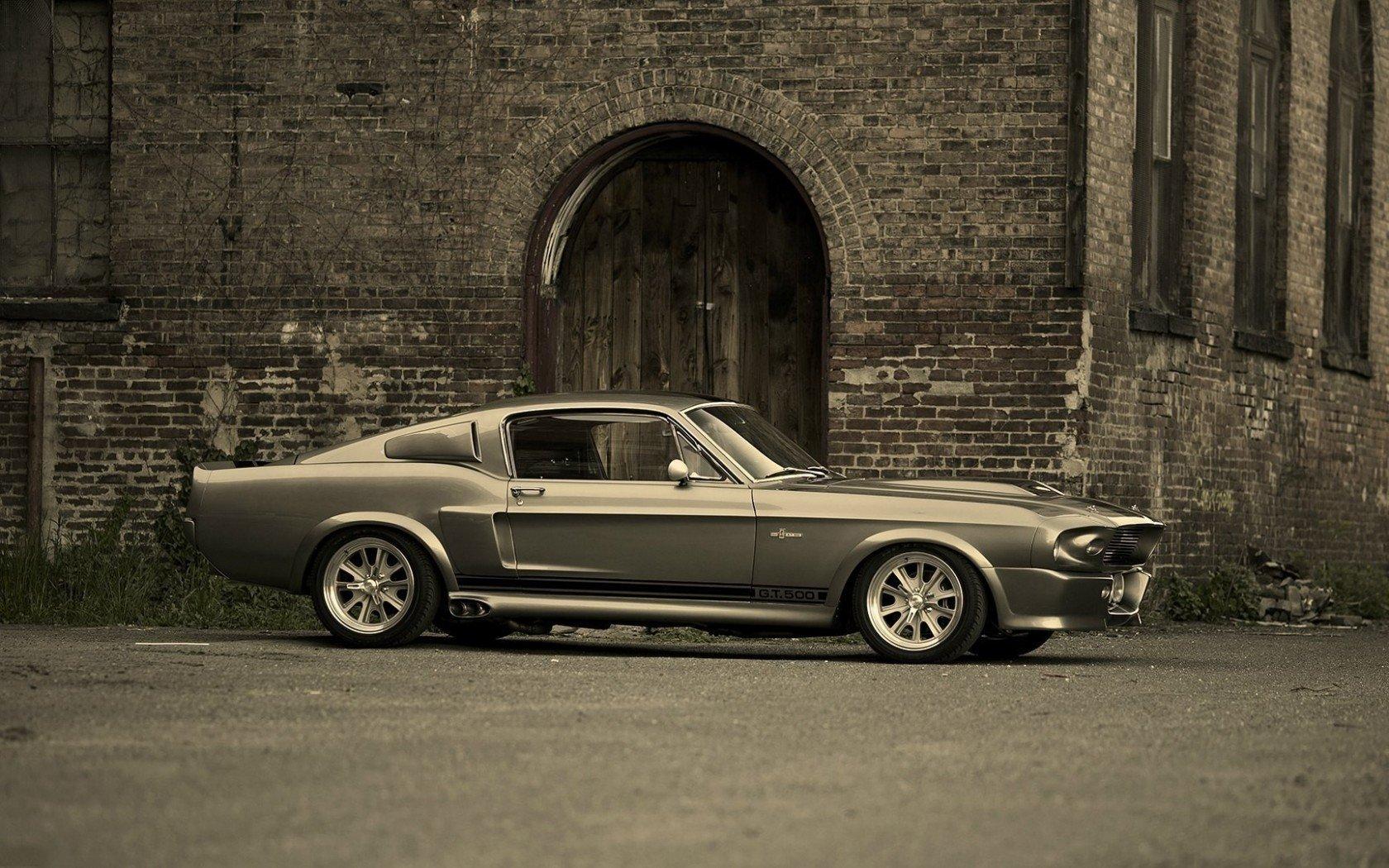[47+] Red Mustang GT500 Eleanor Wallpaper on WallpaperSafari