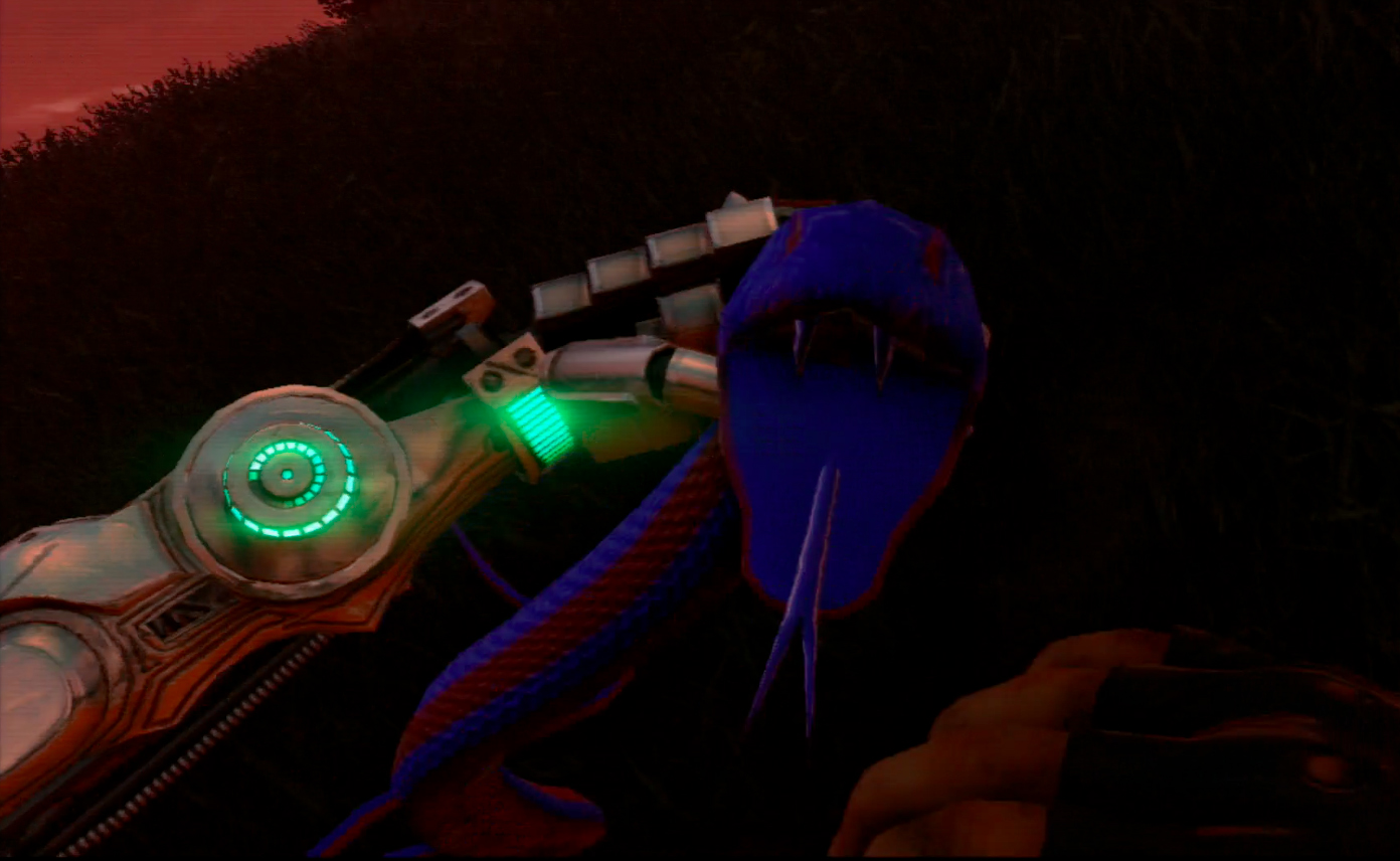 how to get a shark in far cry blood dragon