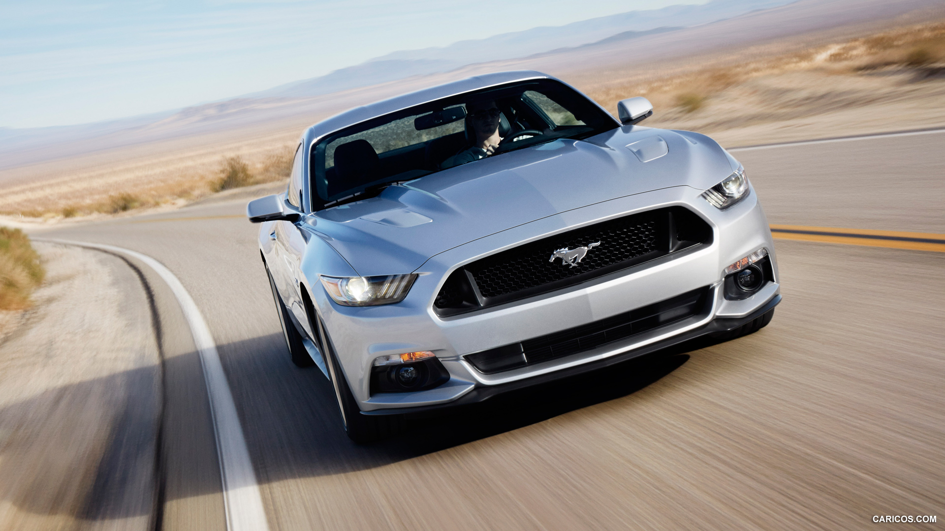 2015 Ford Mustang Wallpaper 2015 Ford Mustang GT   Front Wallpaper 1920x1080