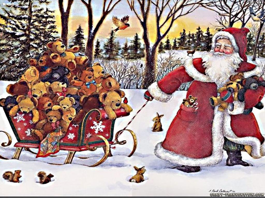 christmas craciun Santa Claus 1024x768