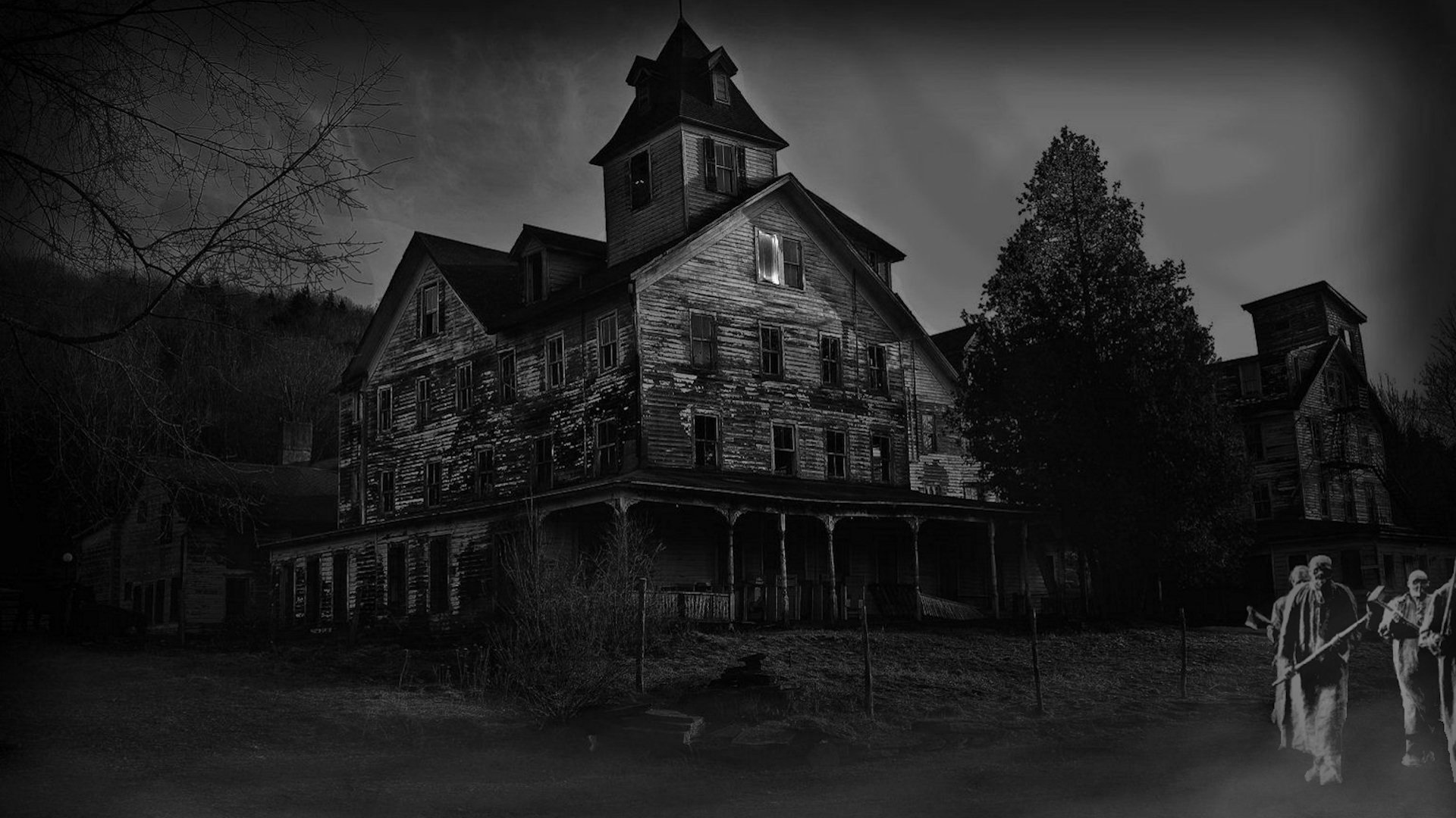 The Haunted House Wallpaper Hd 19201080 21590 HD Wallpaper Res 1920x1080