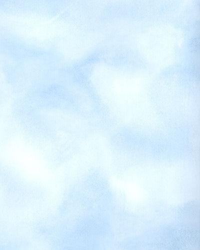 Medium Blue Faux Cloud Wallpaper   Wall Sticker Outlet 400x500