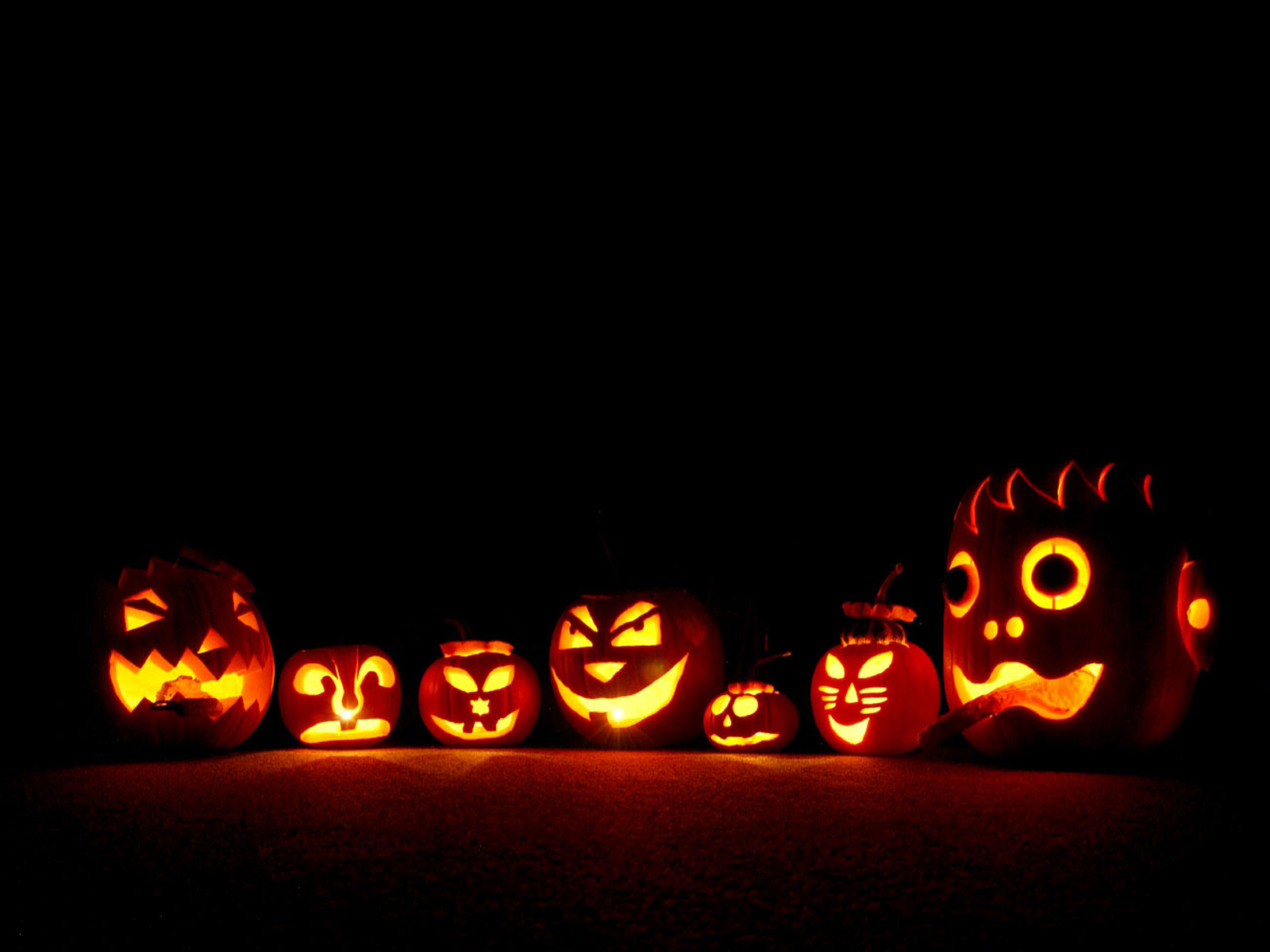 Halloween Pumpkins HD Wallpapers Widescreen 1600x1200