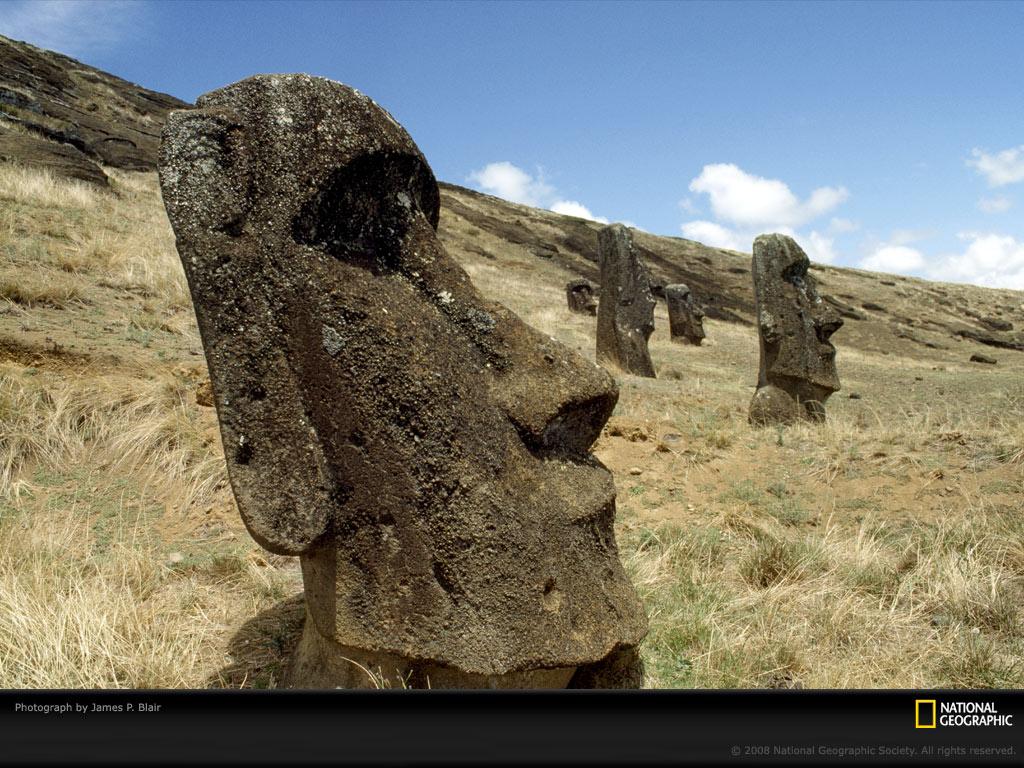 Moai Photo Easter Island Wallpaper Download Photos    National 1024x768
