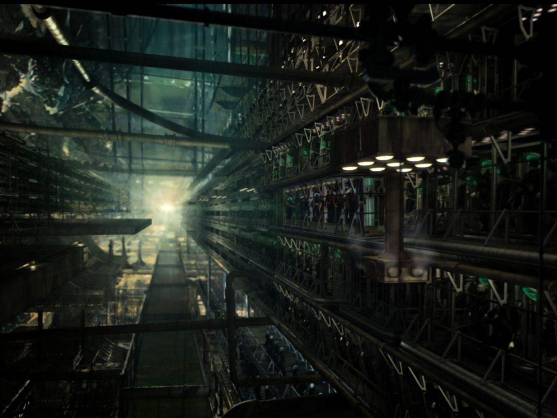 Borg hive Collective conciousness Borg ship interior Borg 1440x1080