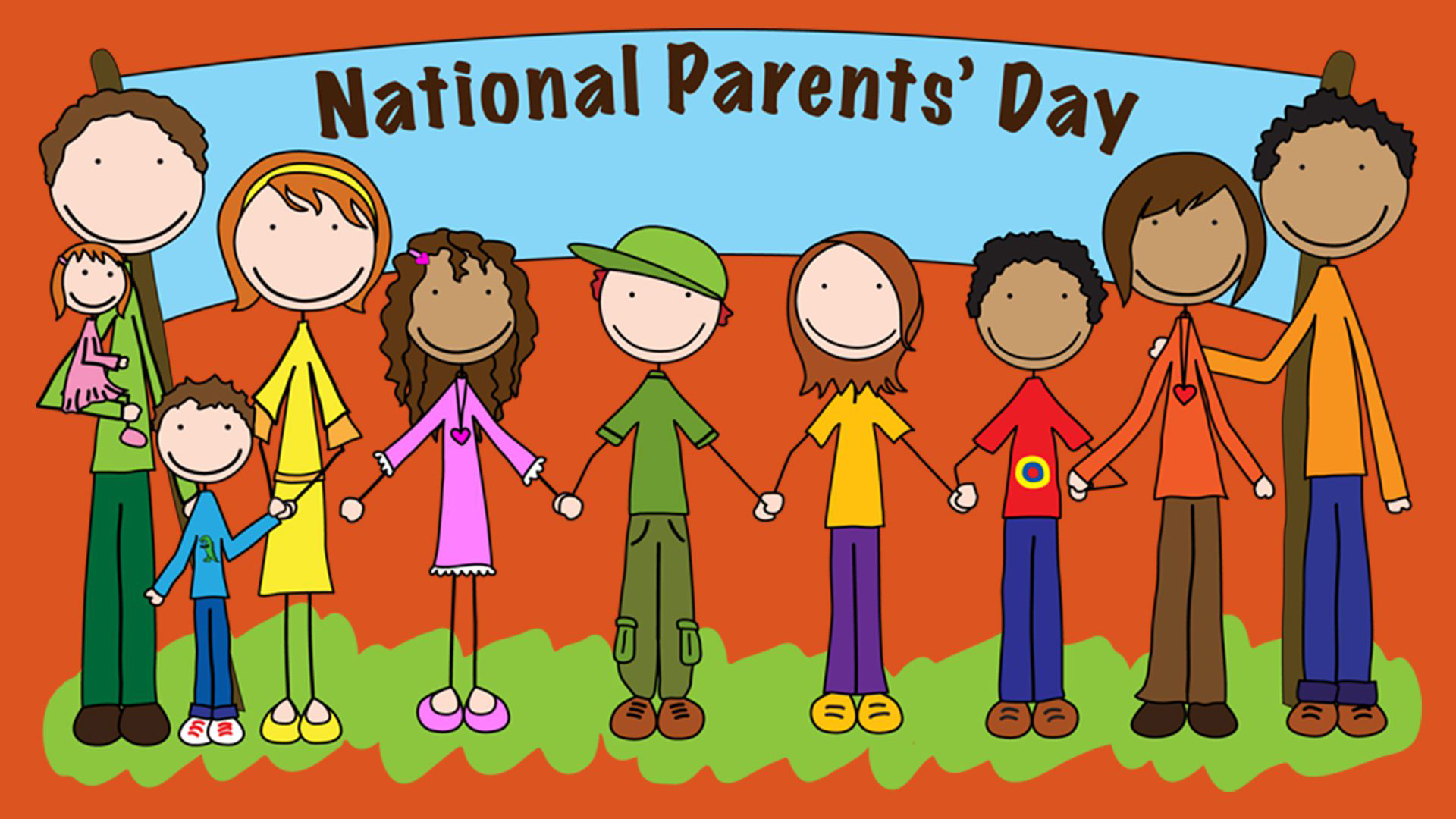Happy National Parents Day Wallpaper Images 1920x1080
