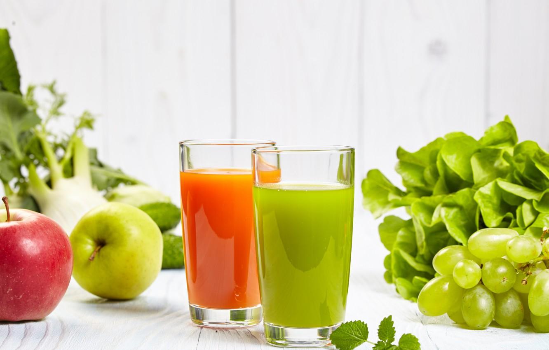 Wallpaper greens juice grapes pepper drink images for desktop 1332x850