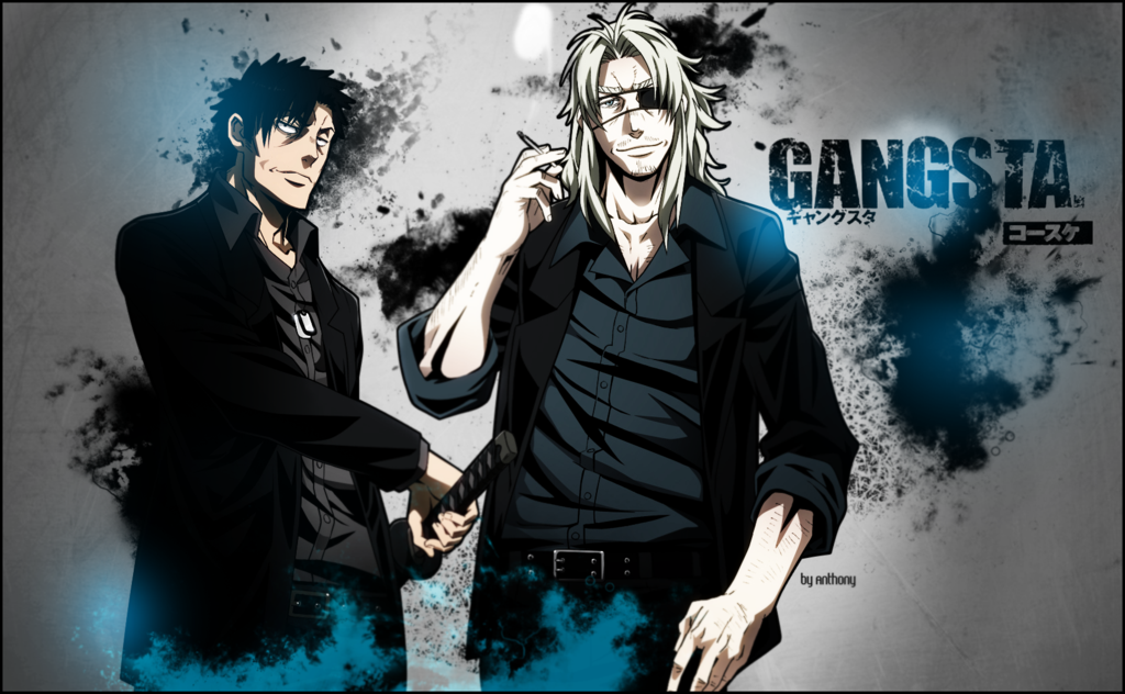 gangsta anime wallpaper wallpapersafari