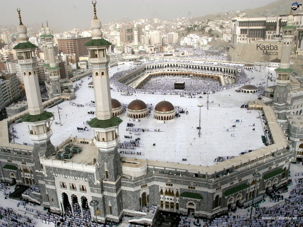 Islam Mecca Wallpaper 1024x768 Islam Mecca 1024x768