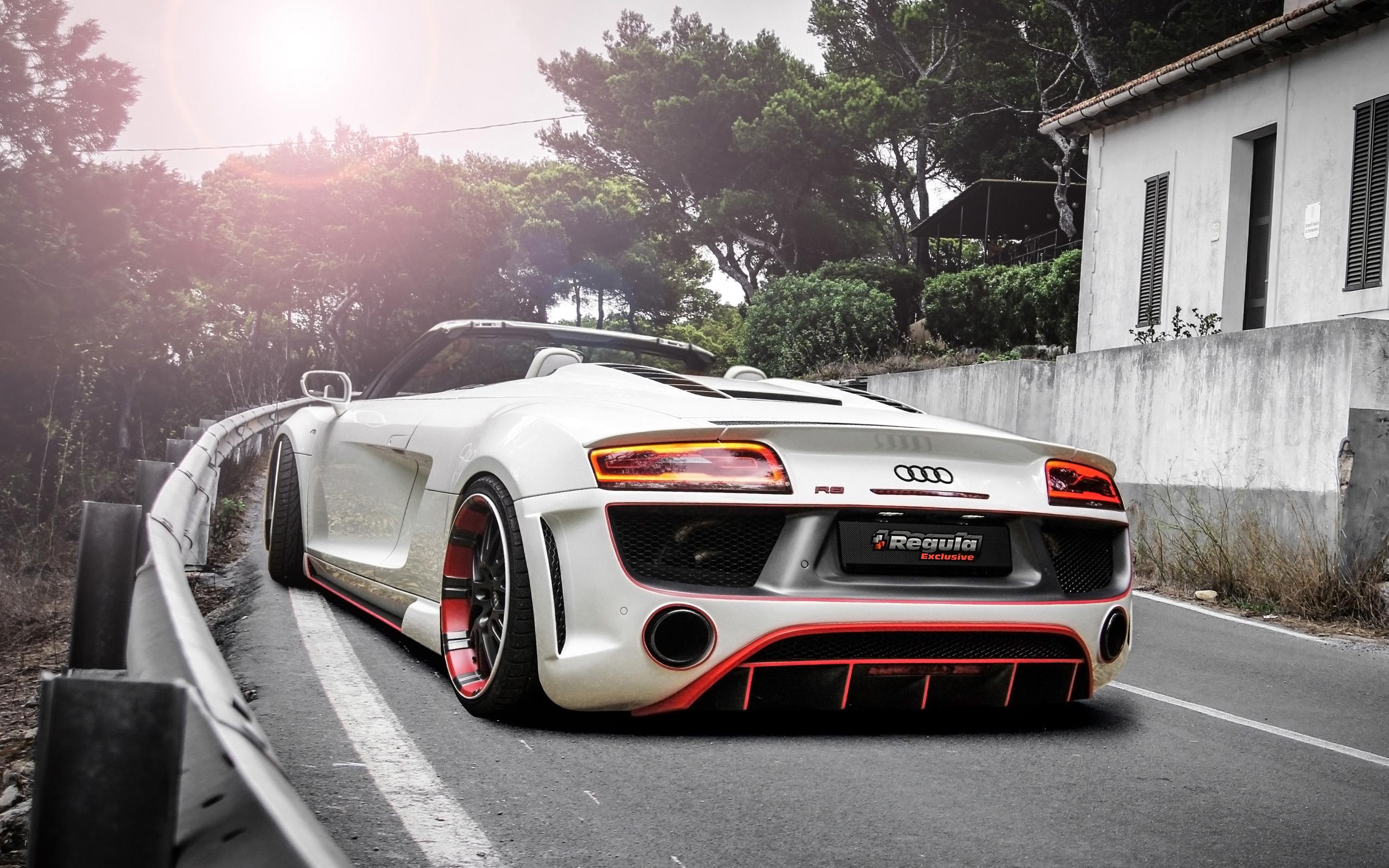 Audi R8 V10 Spyder By Regula Tuning 2 Wallpaper HD Car Wallpapers 2560x1600