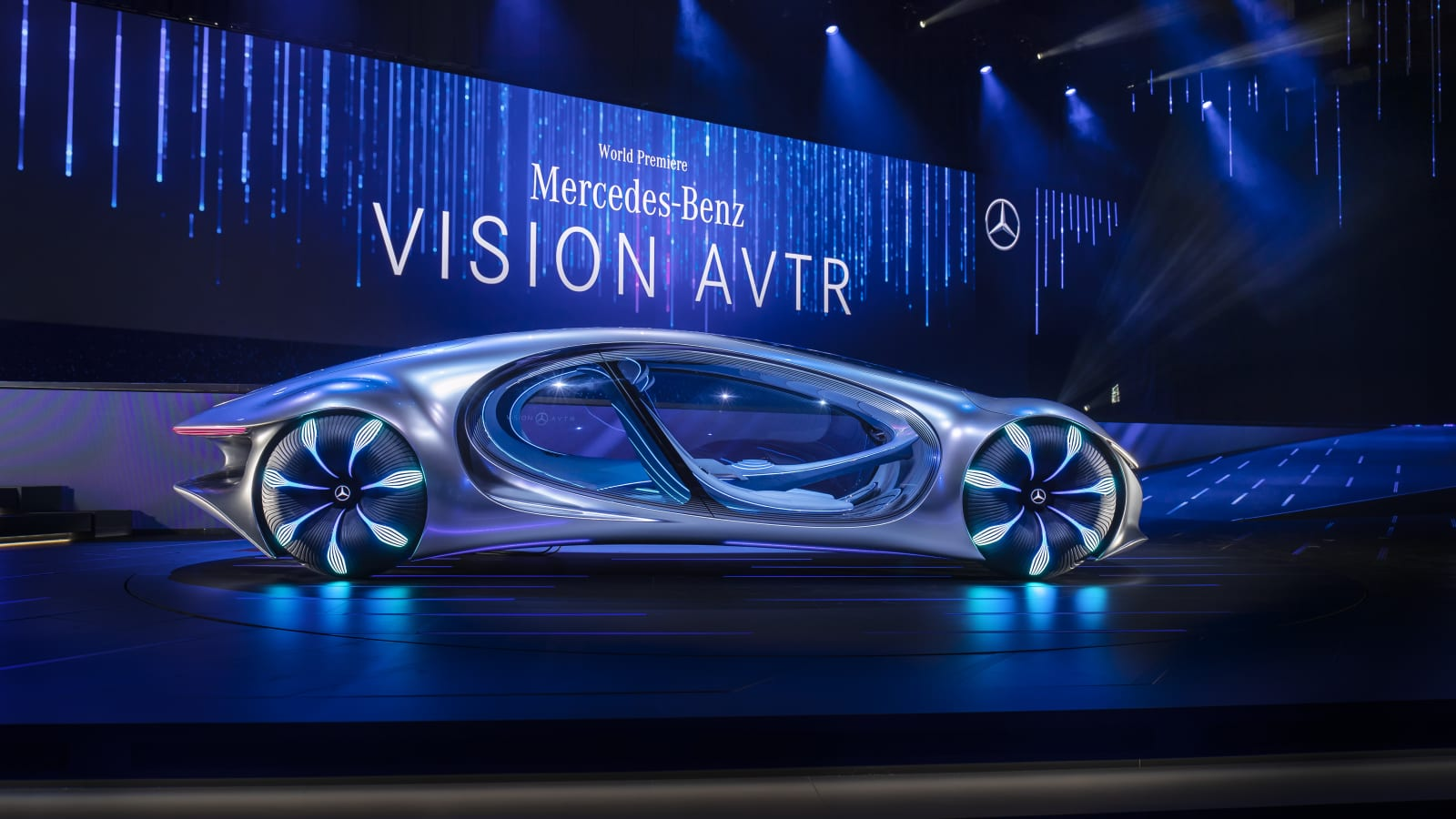 Photos Mercedes Benzs concept car inspired by Avatar 1600x900