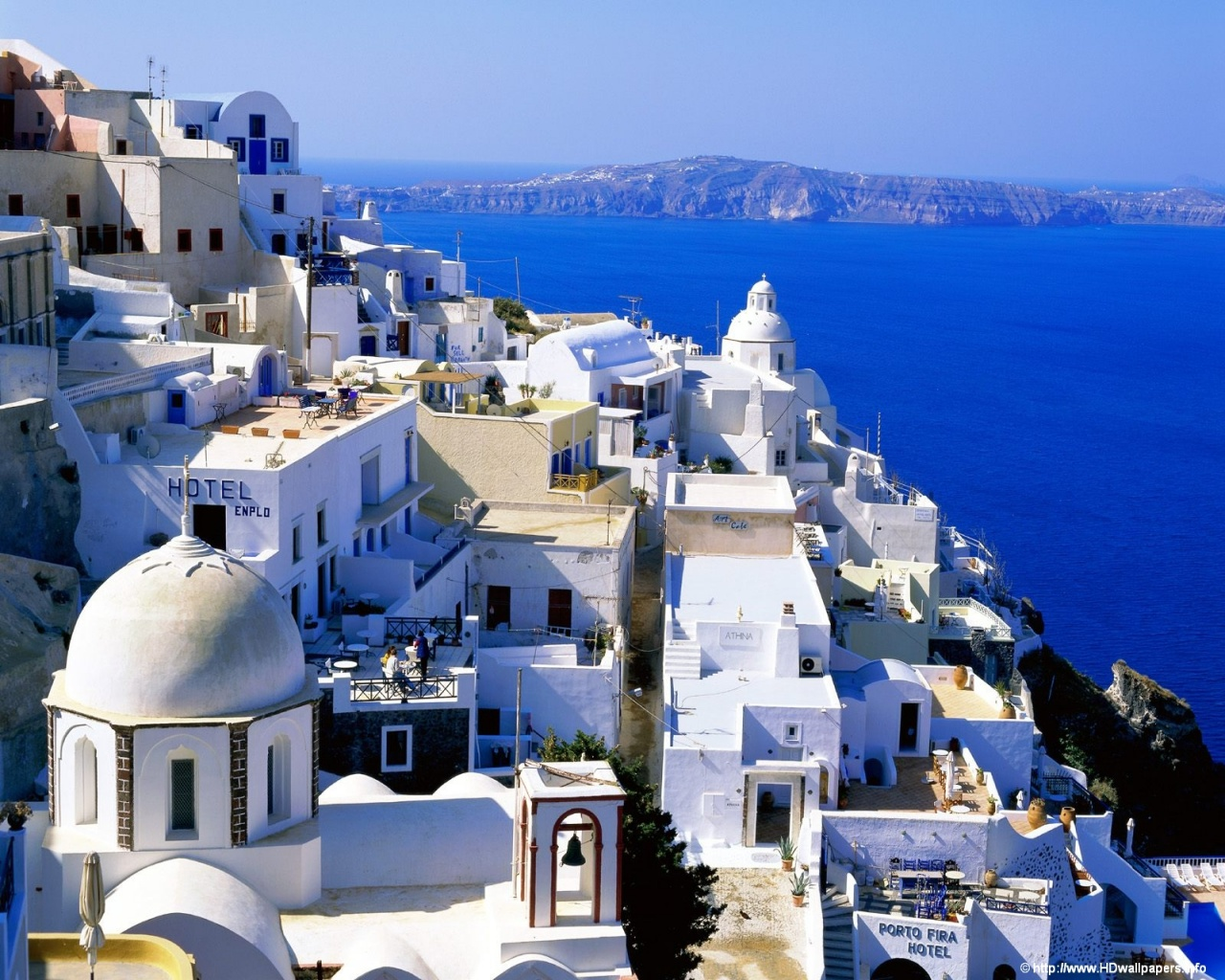 1280x1024 Santorini   Greece desktop PC and Mac wallpaper 1280x1024