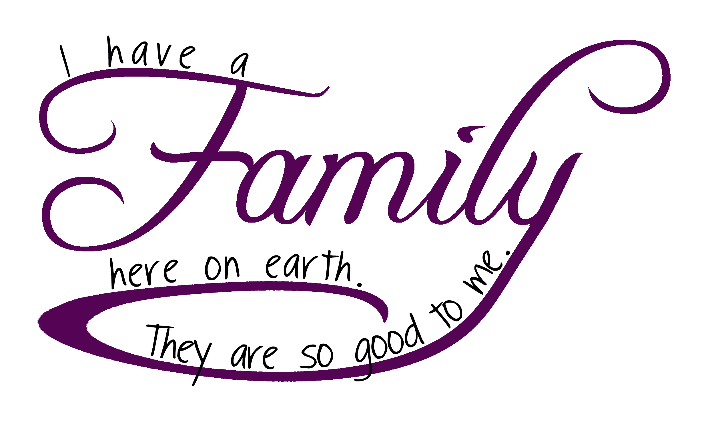 Image My Famly Png: I Love My Family Wallpaper