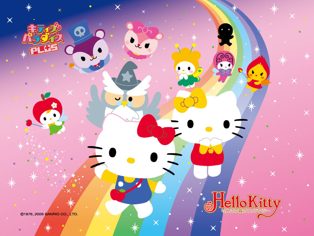 Wallpapers   Hello Kitty Wallpaper 28941629 1024x768